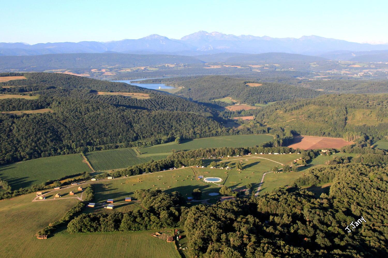 A proximité du Camping de La Besse: le Lac de Montbel