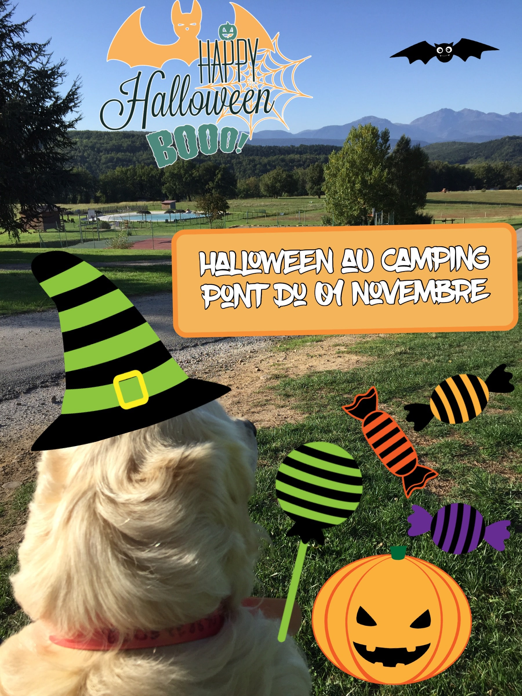 Halloween au Camping